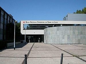 École nationale supérieure de chimie de Lille - ENSCL - Chimie Lille front building