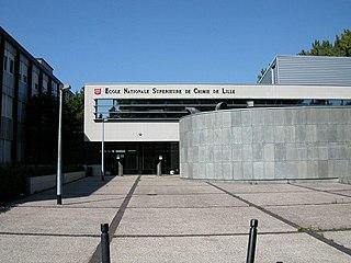 École nationale supérieure de chimie de Lille chemistry science school at University of Lille