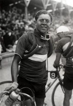 1931 Tour de France - Fabio Battesini, the winner of the third stage