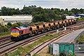 Fairwater - DB Cargo 66165+66080 ballast to Lostwithiel.JPG