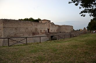 Fano - The Castle of Fano July 2011