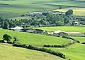 Farms at the foot of Maes Knoll - geograph.org.uk - 1389174.jpg
