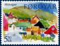 Faroe stamp 514 vagar - midvagur.jpg
