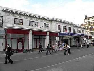Charles Walter Clark - Image: Farringdon station original building 2012