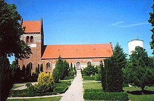 Faxe - The church in Faxe