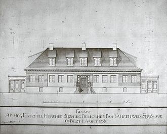 Jacob Fegth - Feghtgården in Havnegaten 10, Tangen, Drammen