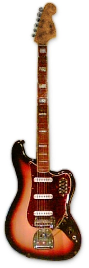 Fender Bass VI - Image: Fender Bass VI