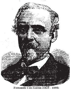 Cos-Gayón, Fernando (1825-1898)