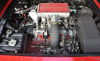 Ferrari Mondial - Mondial 3.2 engine bay