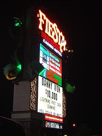 Fiesta Henderson - Fiesta Henderson sign in 2010