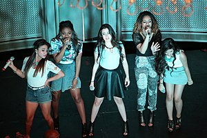 Fifth Harmony - Fifth Harmony performing on their Harmonize America Mall Tour, August 2013.