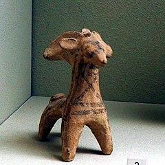 Figurine of a goat-MAHG P 308