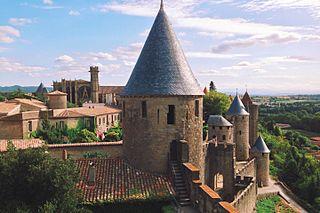 Cité de Carcassonne Medieval citadel in France