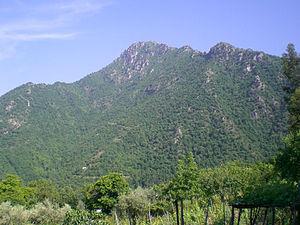 Monte Calvo (Picentini) - Image: Fili della croce 2