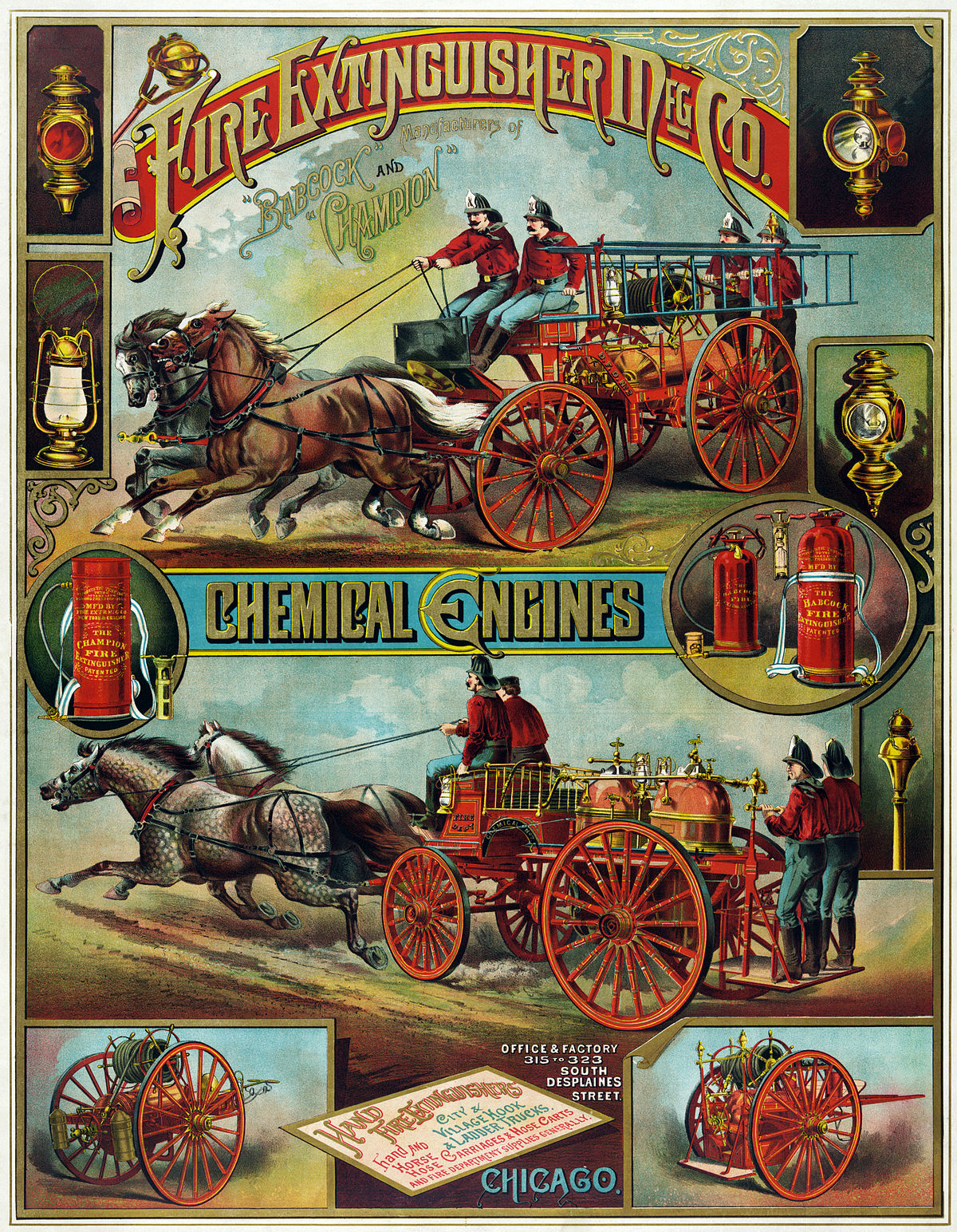 File:Fire Extinguisher Mfg. Co., advertising poster, ca ...