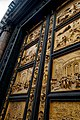 Firenze - Florence - Piazza di San Giovanni - View SW & Up on the Gates of Paradise 1452 by Lorenzo Ghiberti (Copy 2006).jpg