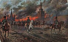 Картинки по запросу наполеон в москве