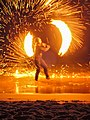 Fireshow beach Koh Lanta, Thailand - Feuershow (19939587108).jpg