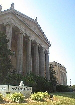 First Baptist Church (Burlington, North Carolina) - Image: First Baptist Church 27215