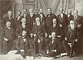First Presidency and Council of the Twelve Apostles of the Church of Jesus Christ of Latter-day Saints. Copyright secured, C.R. Savage. (cropped).jpg