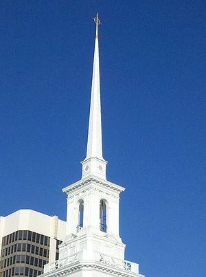 First United Methodist Church of Orlando - First United Methodist church of Orlando Steeple