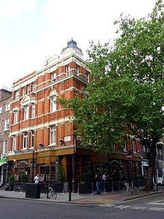 Fitzroy Tavern pub in Fitzrovia, London