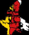 Flag Map of Nunavut.png