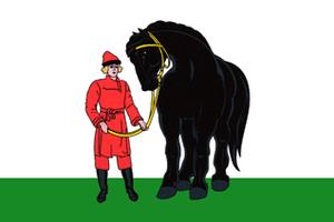 Gavrilovo-Posadsky District - Image: Flag of Gavrilovo Posadsky rayon (Ivanovo oblast)