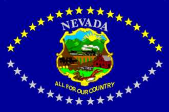 Flag of Nevada - Image: Flag of Nevada (1915 1929)