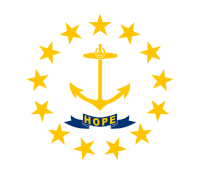 Flag of Rhode Island