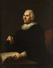 Portrait of an astronomer (traditionally Tycho de Brahe).