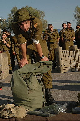 Flickr - Israel Defense Forces - A New Soldier Packs His Bag