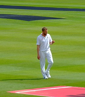 Andrew Flintoff English cricketer