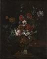Flowers in a Sculptured Urn (Johann Daniel Preissler) - Nationalmuseum - 17745.tif