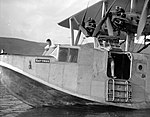 Flying boat Satyrus on Sea of Galilee showing a close-up. 1931 Oct. matpc.15805.jpg