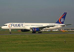 Flyjet Boeing 757 Spijkers.jpg