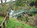 Footbridge over the Polmaddy Burn - geograph.org.uk - 1464973.jpg