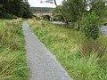 Footpath beside River Wharfe near Strid Wood - geograph.org.uk - 1474594.jpg