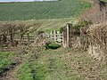Footpath gate - geograph.org.uk - 317484.jpg