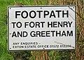 Footpath sign - geograph.org.uk - 166132.jpg