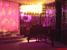 Forbidden Broadway set in Menier Chocolate Factory 2009.jpg