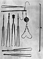 Forceps and balances used by a Roman oculist Wellcome M0018204.jpg
