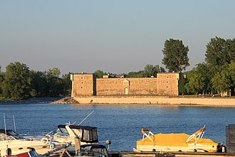 Fort Chambly - Image: Fort Chambly 1