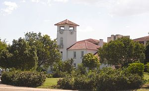 "University of Fort Hare - ""Union Hall"" at the University of Fort Hare."