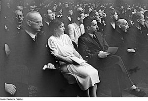 Johannes Stroux - Johannes Stroux (left) with Victor Klemperer (right) at a meeting of the Kulturbund July 1946
