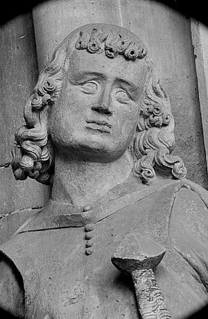 Herman I, Margrave of Meissen - Donor portrait at Naumburg Cathedral