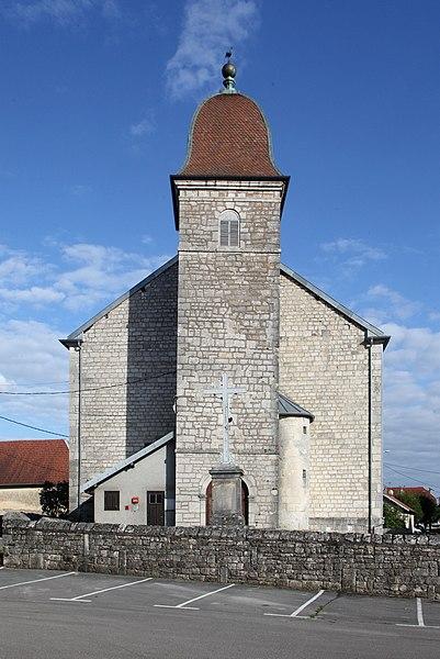 Église de Foucherans (Doubs).