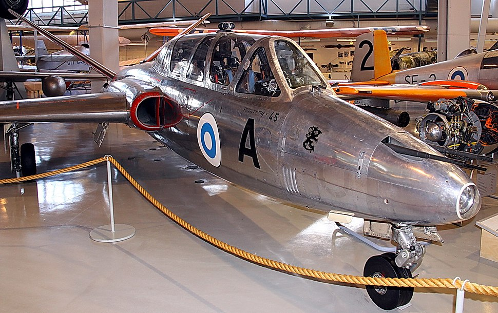 Fouga CM 170 Magister (FM-45) K-SIM 01