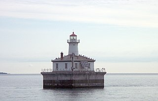 Fourteen Foot Shoal Light lighthouse in Michigan, United States