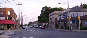 Pennsylvania Route 232 - PA 232 (Oxford Avenue) in Fox Chase